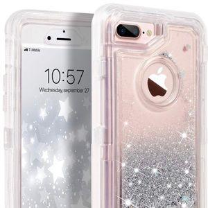 IPhone 8+ Glitter Case